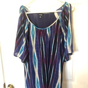 Tops - Rafella cold shoulder Top EUC!!